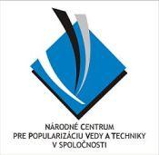 Logo Národného centra pre popularizáciu vedy a techniky v spoločnosti