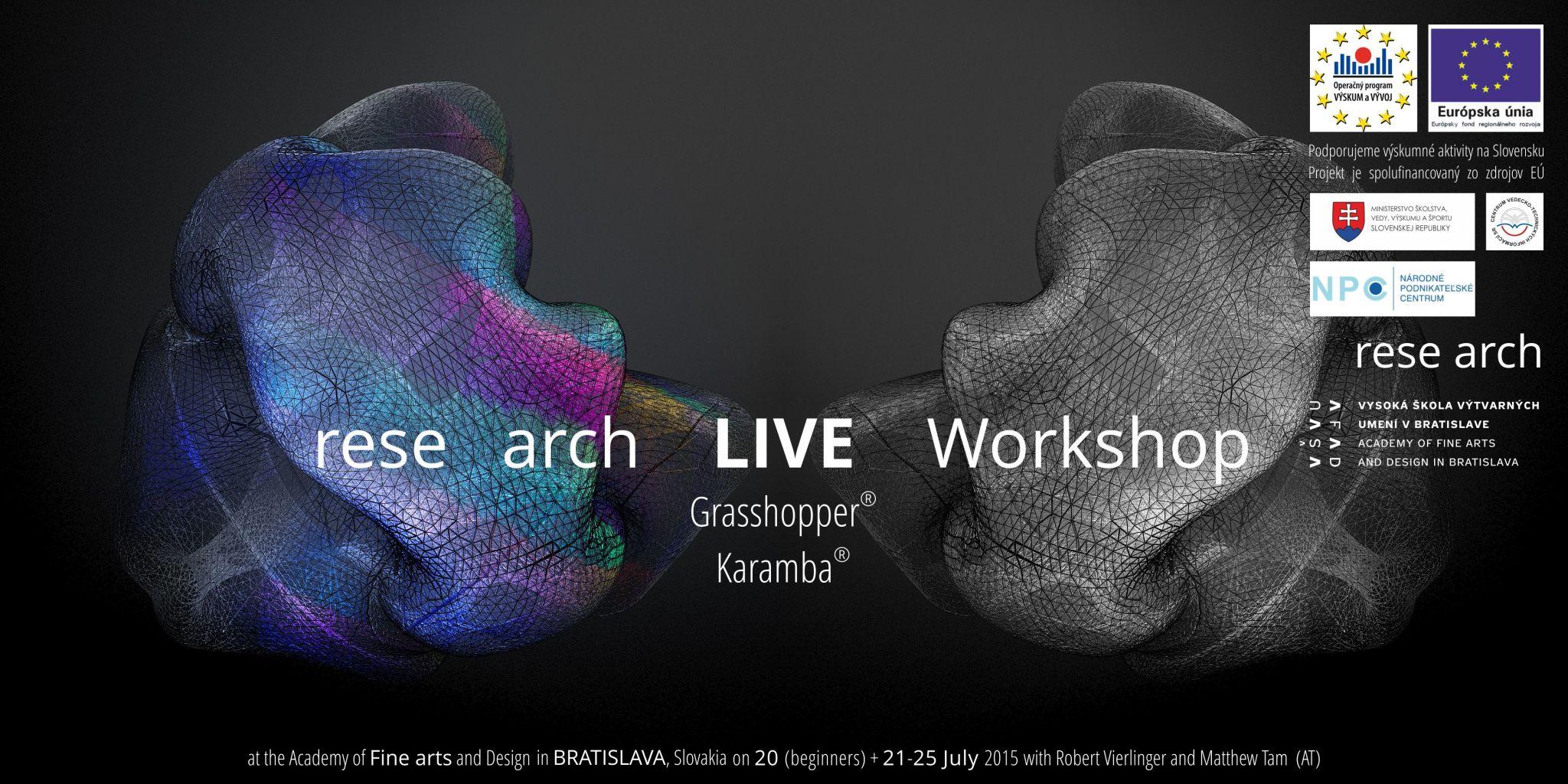 Medzinárodný workshop digitálneho dizajnu v Bratislave