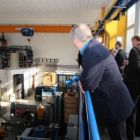 exkurzia v laboratóriu Ústavu materiálov a mechaniky SAV