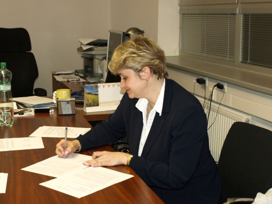 podpísanie Memoranda o porozumení