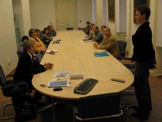 stretnutie s Univerzitnou knižnicou