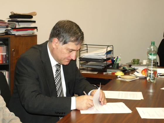podpis Memoranda o porozumení