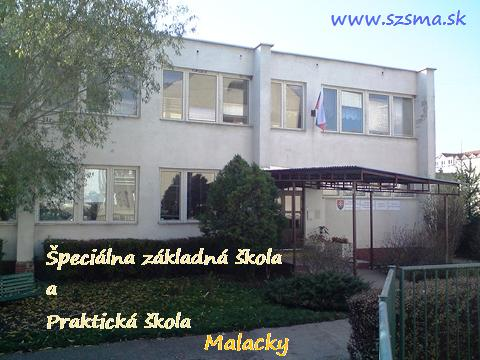 Špeciálna základná škola a Praktická škola - Malacky
